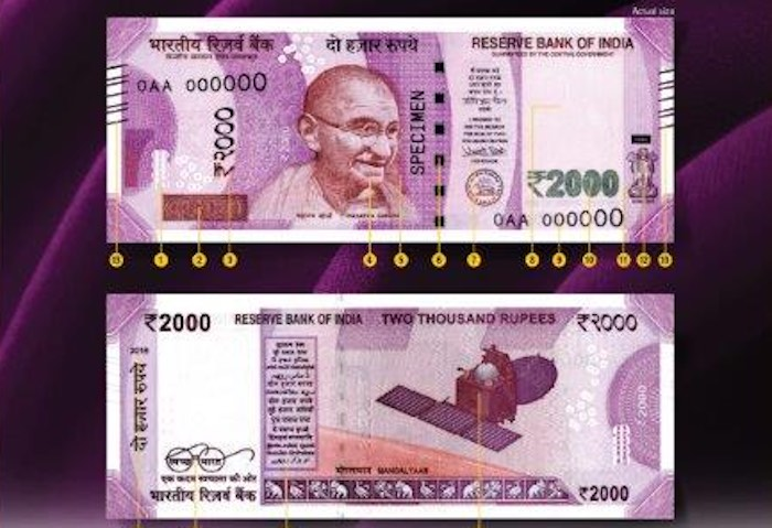 New Rs. 2000 notes