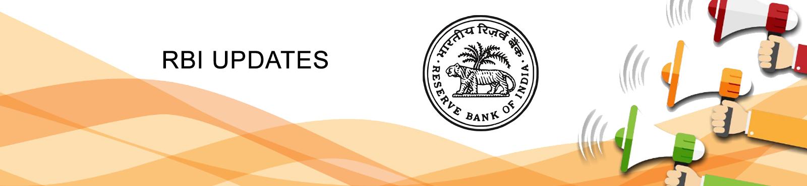 RBI Updates Banner
