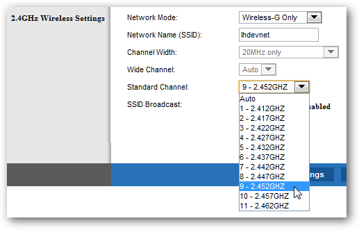 Find The Right Wireless Channel