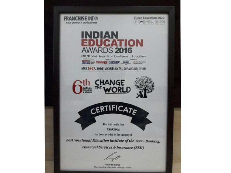 Indian Education Awards 2016