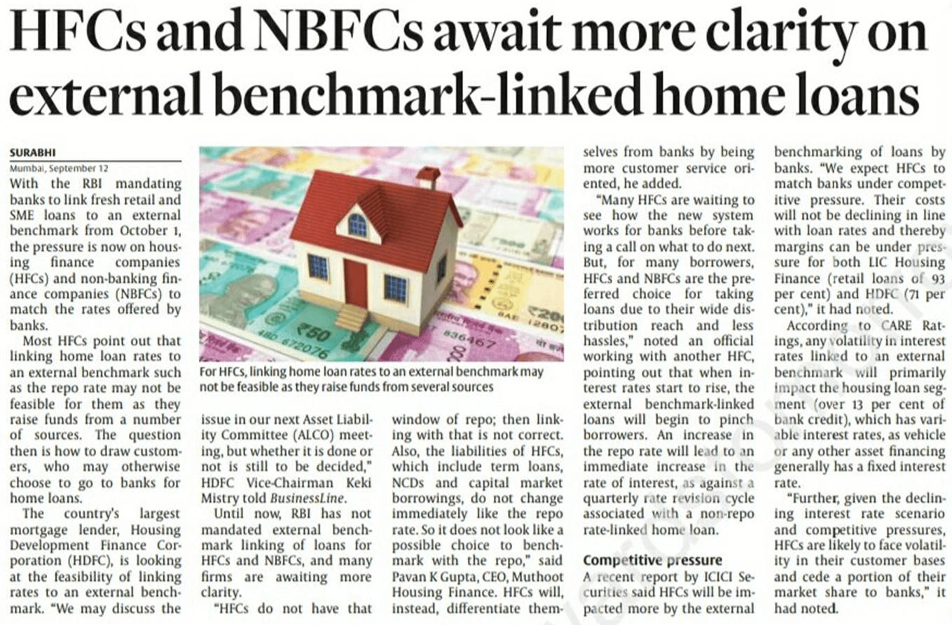 HFCs and NBFCs