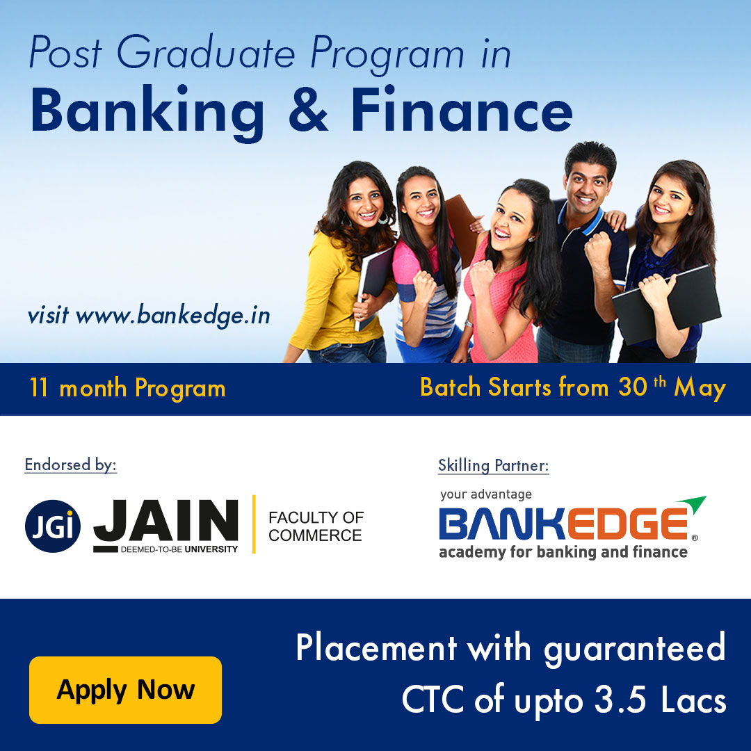Post Graduate Program in Banking and Finance Poster