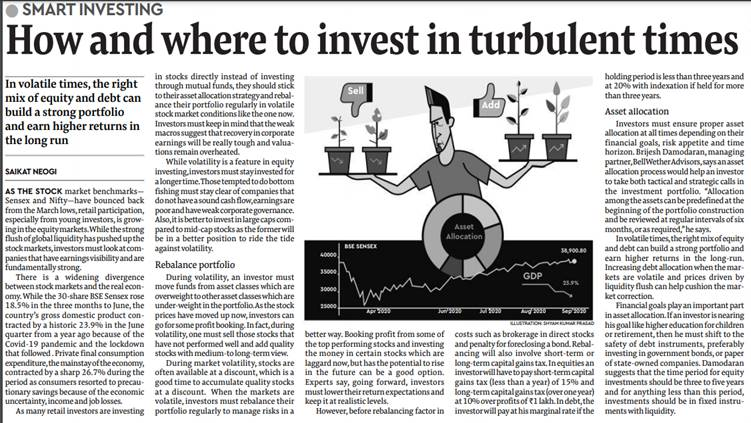 Article on Turbulent Times