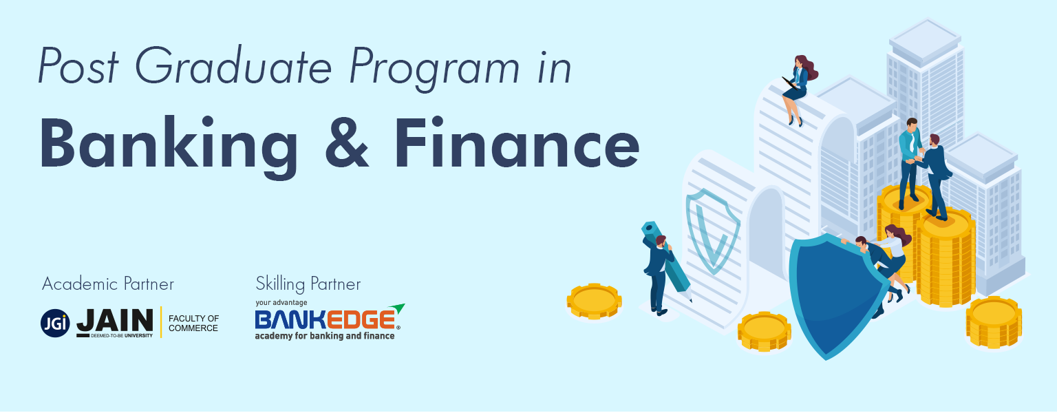 Post Graduate Program in Banking and Financial Management Course Banner